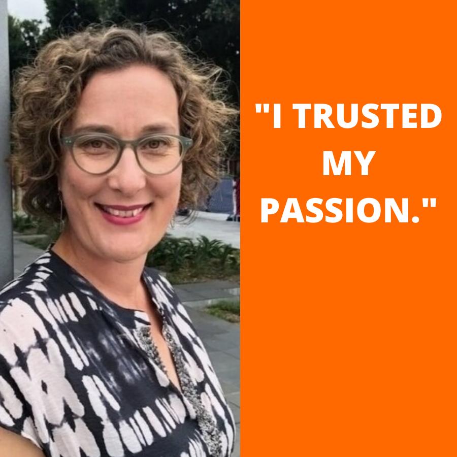 Naomi Barton Trusted my passion
