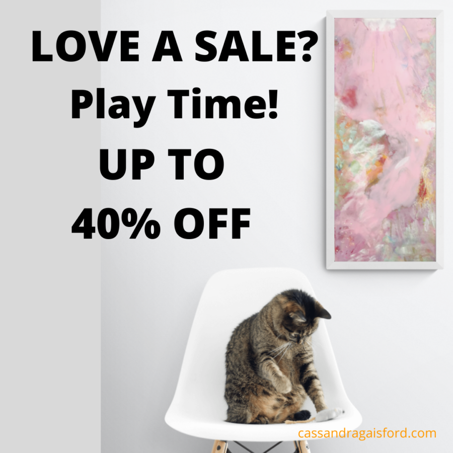 7 Reasons Artists Should Have A Sale