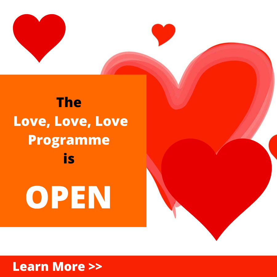 Change your life with Cassandra Gaisford's coaching programme LOVE! LOVE! LOVE!