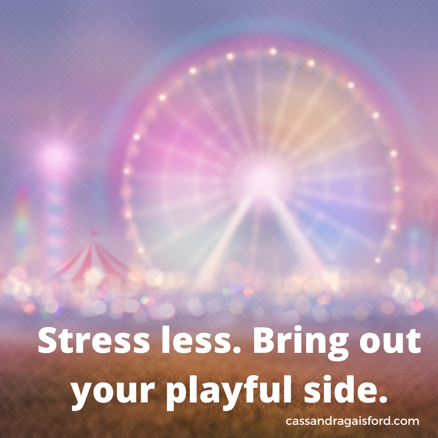 How to stress less and play more